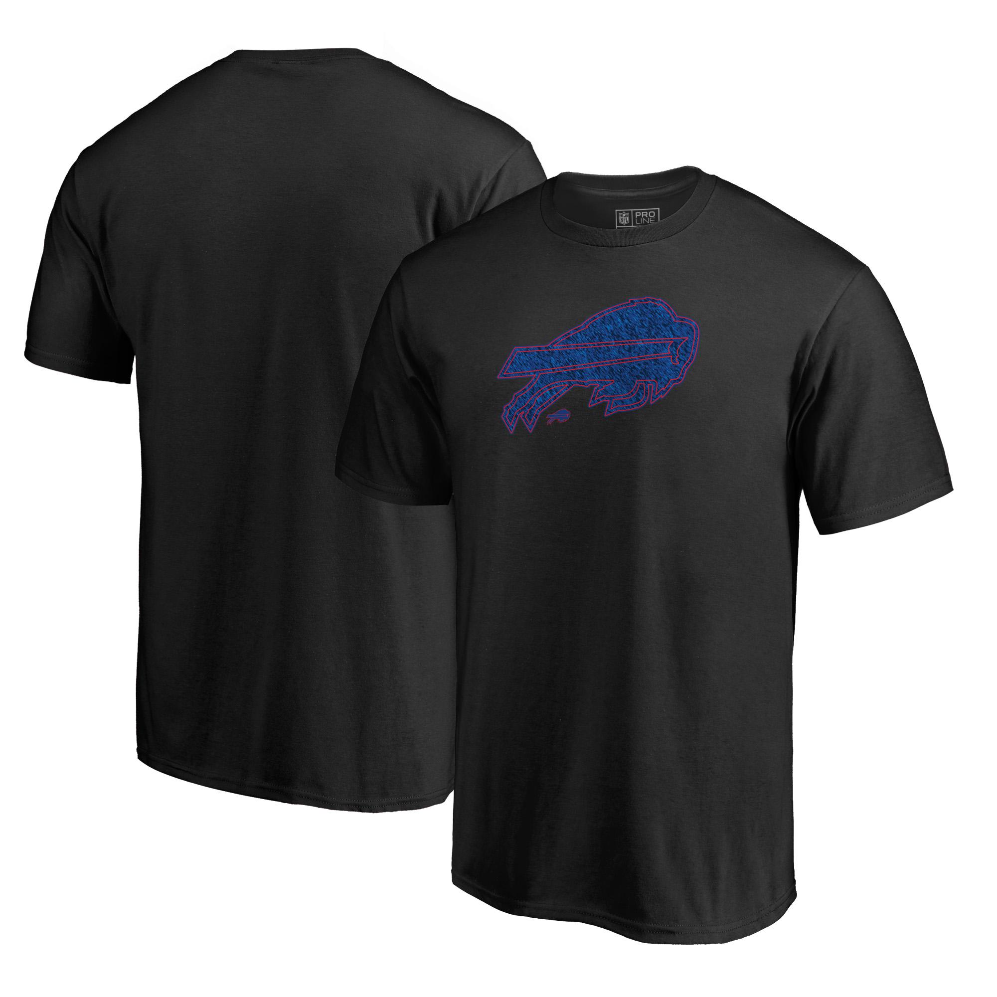 Buffalo Bills NFL Pro Line by Fanatics Branded Training Camp Hookup T-Shirt - Black