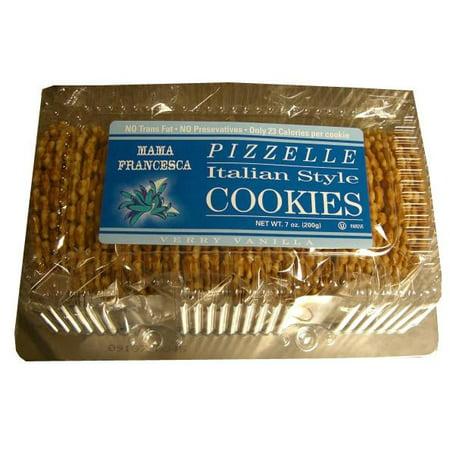Pizzelle, Italian Style Vanilla Flavor Cookies, 8oz - 3d Halloween Cookies
