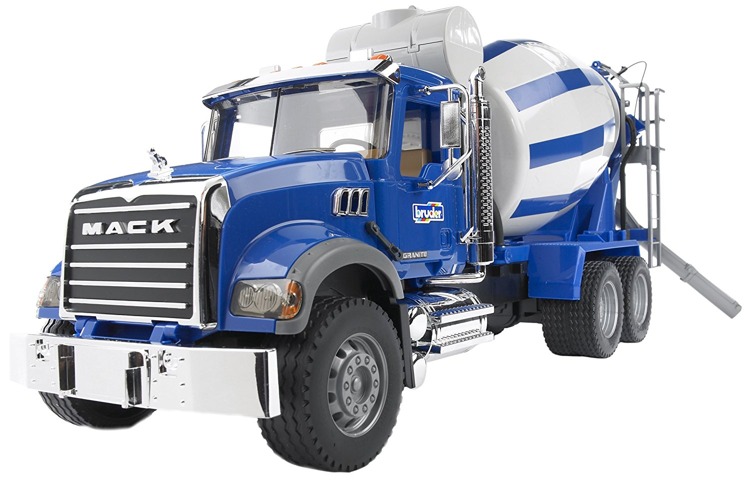 Bruder Mack Granite Cement Mixer by