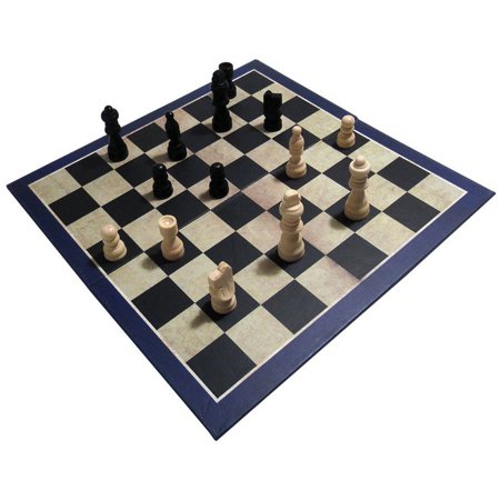 3-in-1 Chess, Draughts/Checkers, & Backgammon
