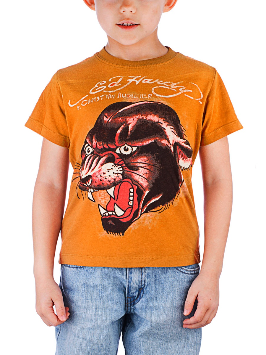 Ed Hardy Toddlers Boy Snake Graphics T-Shirt