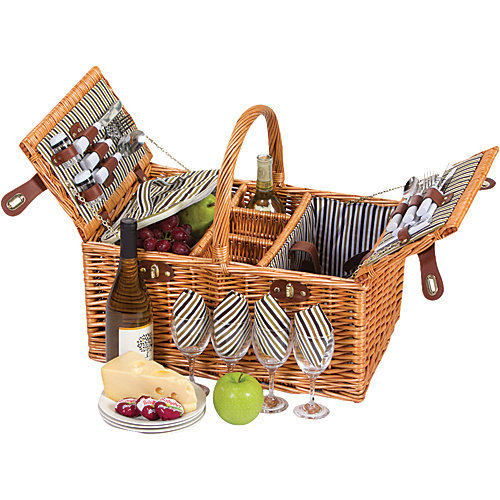 Picnic Plus Dilworth 4 Person Picnic Basket