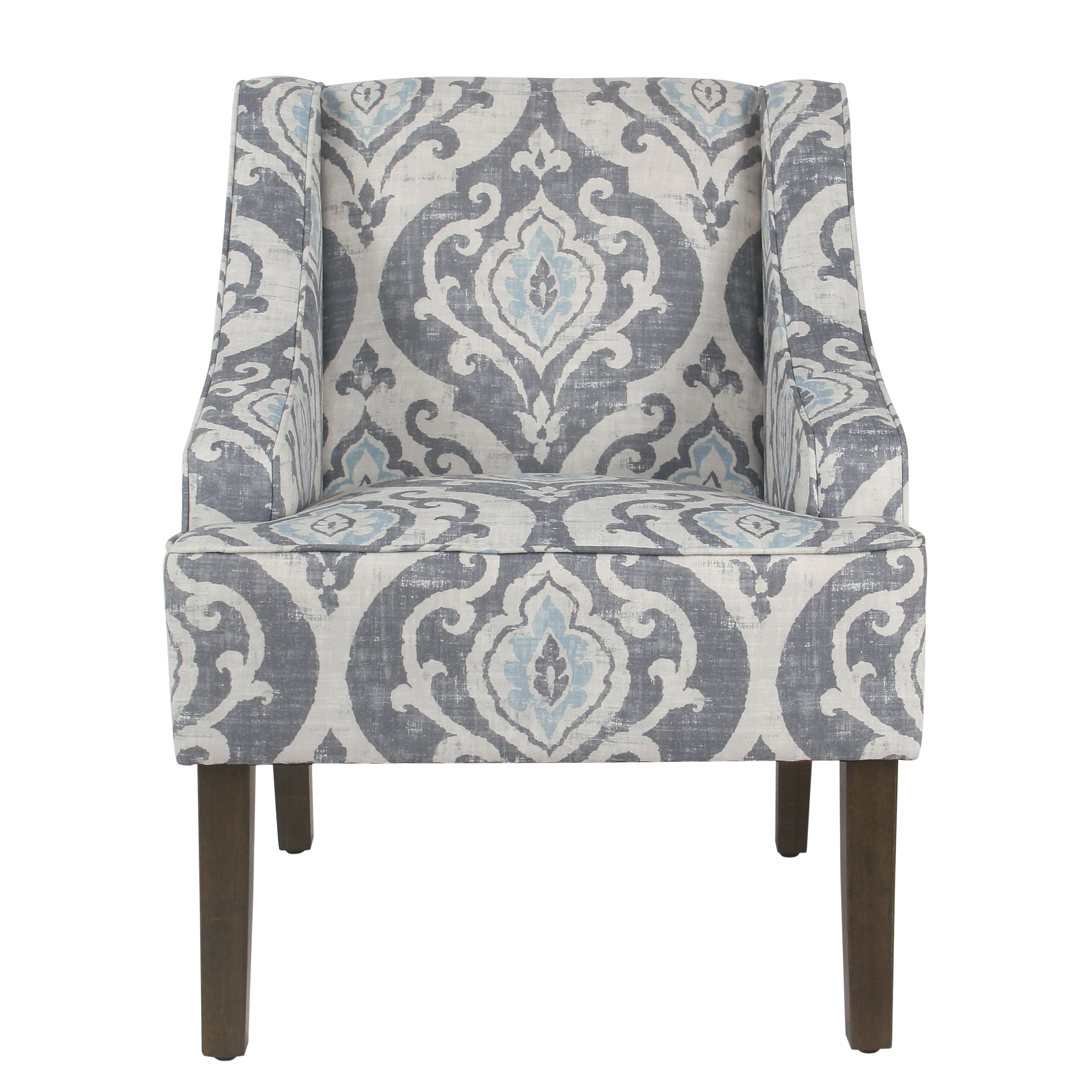 HomePop Classic Swoop Accent Chair, Multiple Colors