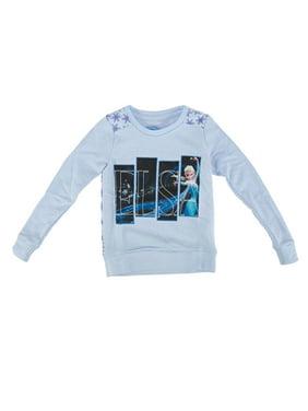 Disney Frozen Elsa Magic Squares Toddlers Blue Pullover Sweatshirt | 2T