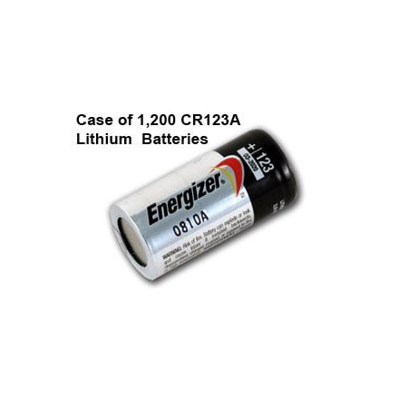 Case Of 1200 Pcs Energizer Lithium Cr123a 3v Photo Lithium