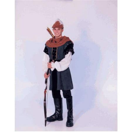 Robin Hood Tunic (Secrets a Division of J Nunley SAM-09S Robin Hood-S Tunic, Cowl,)