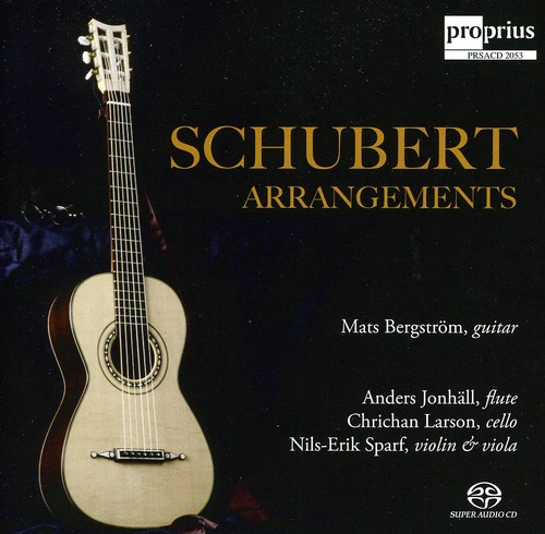 Mat Bergstrom & Anders Jonhall - Schubert Arrangements [CD]