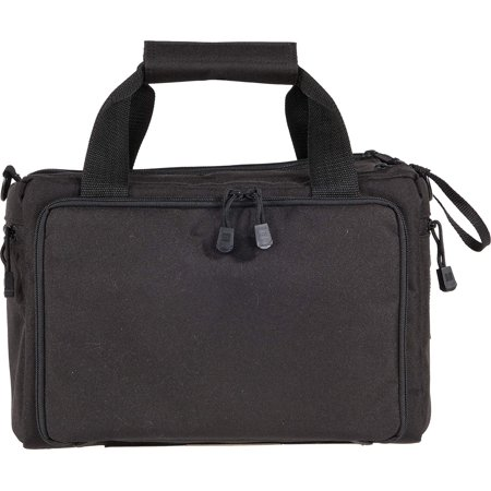 5.11 Tactical Deluxe Shooting Range Qualifier Bag, 600D Pistol Gun Duffle, 8 Mag Slots, Spacious Packets, Padded Shoulder Strap, Style
