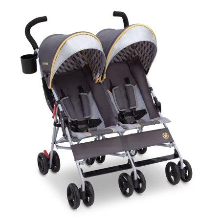 Jeep Scout Double Stroller by Delta Children, Choose Your (Best Lightweight Double Stroller)