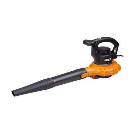 Worx WG518 12 Amp All-in-One Blower Mulcher Vacuum (Corded (Best Blower Vacuum Mulcher Reviews)