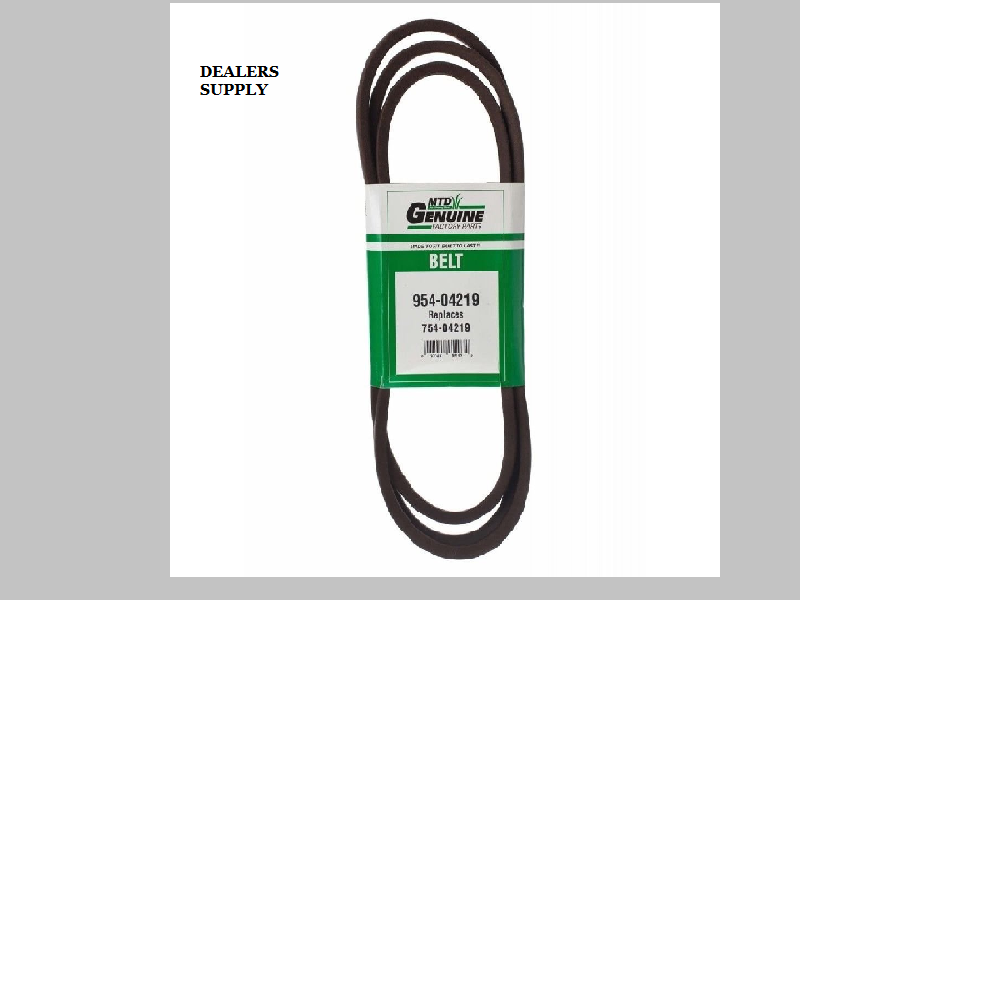 """MTD CUB CADET 46"""" DECK BELT LTX MODELS 754-04219 954-04219 OEM"""