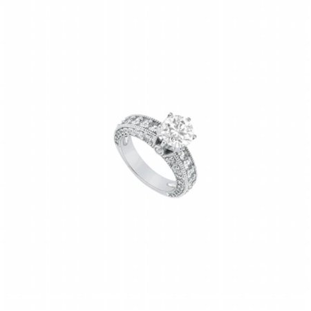 (Fine Jewelry Vault UBJS1040APTD-101RS9.5 Diamond Engagement Ring Platinum, 2.00 CT - Size 9.5)