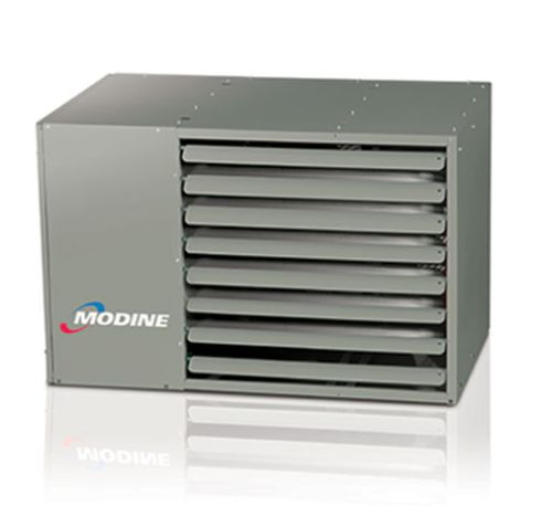 350K Double Stage Horizontal Power Vented Combustion Unit - NG