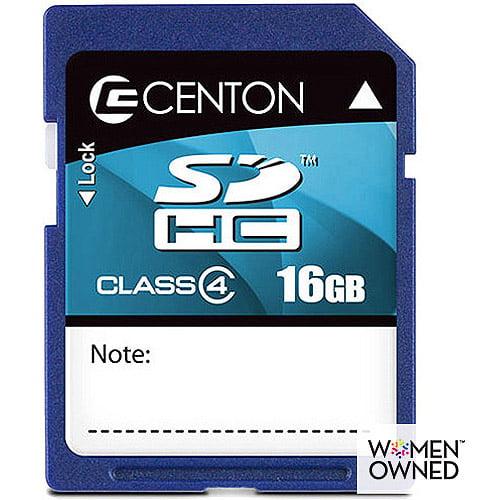 Centon 16GB SDHC 4 Memory Card
