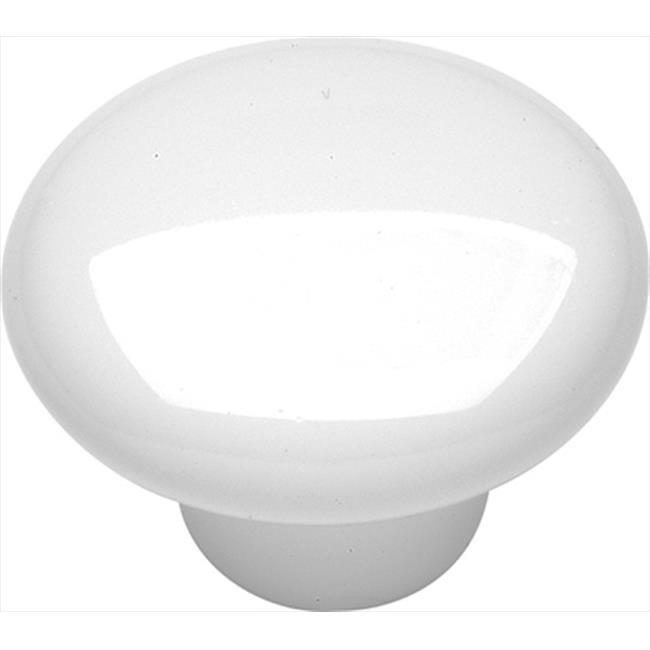 1.5 In. English Cozy White Cabinet Knob - image 1 de 1