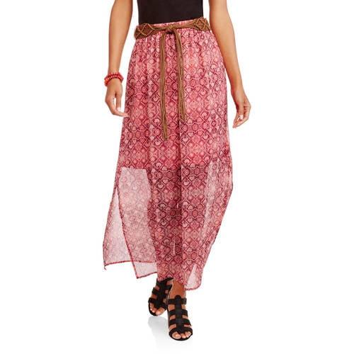 Women's Peasant Maxi Skirt