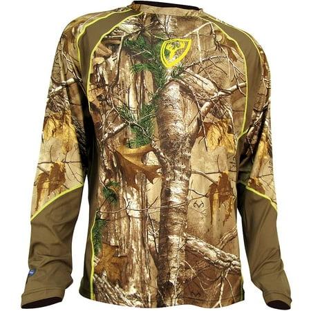 Scent Blocker Trinity 1.5 Long Sleeve Shirt, Realtree Xtra