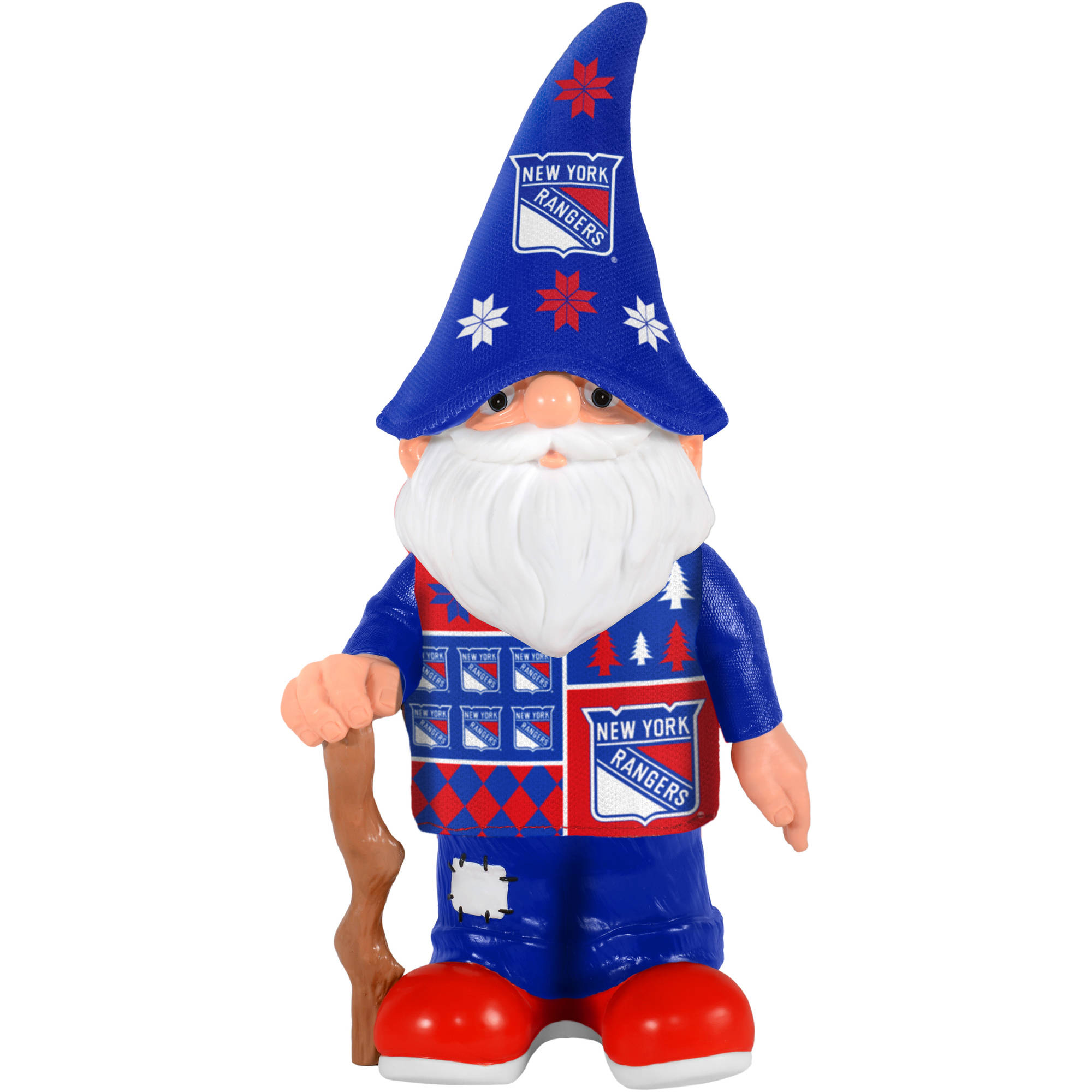 Forever Collectibles NHL Real Ugly Sweater Gnome, New York Rangers