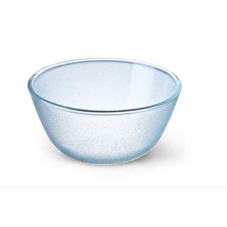Simax Glassware 3.7 Quart (14.5 Cup) Frozen Glass Mixing Bowl | Heat, Cold, and Shock Resistant Borosilicate Glass, Dishwasher and Microwave Safe, Made in Europe ()