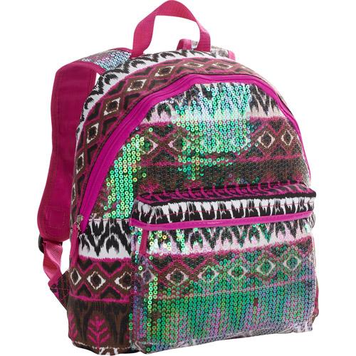 No Boundaries Tribal Sequin Backpack