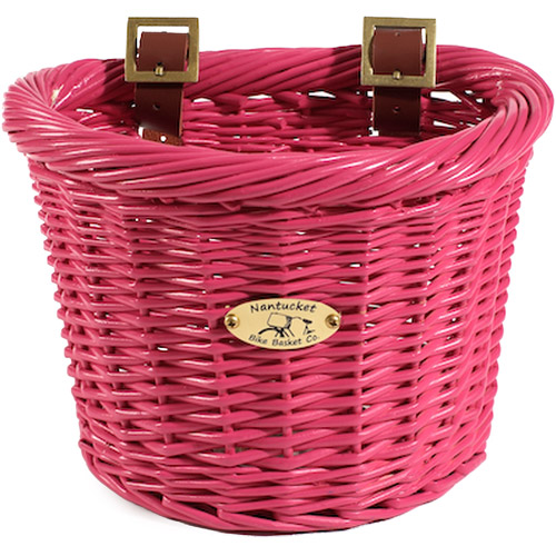 Gull & Buoy Child D-Shape Basket, Pink