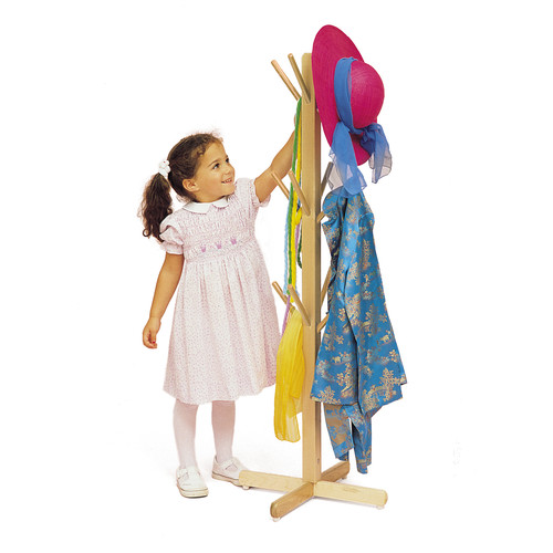 Whitney Brothers Dress-Up Coat Rack