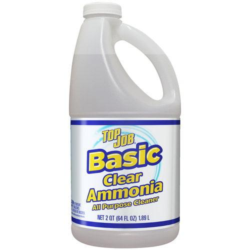Top Job Basic Clear Ammonia All Purpose Cleaner, 64 fl oz ...