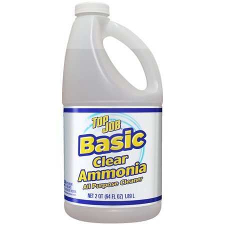 Top Job Basic Clear Ammonia All Purpose Cleaner 64 Fl Oz