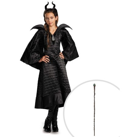 Maleficent Christening Black Gown Deluxe Costume for Girls and Queen Maleficent Classic 56