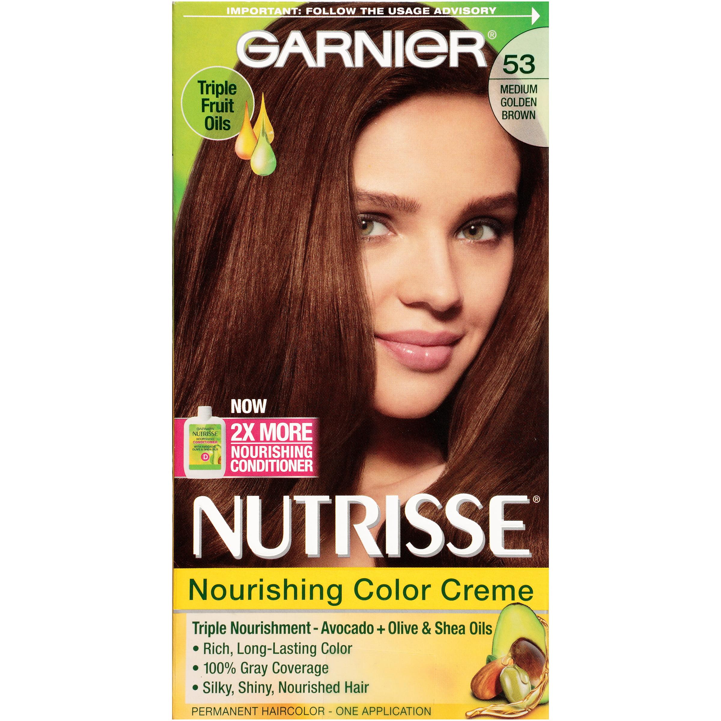 Garnier 174 Nutrisse 174 Nourishing Color Creme Walmart Com