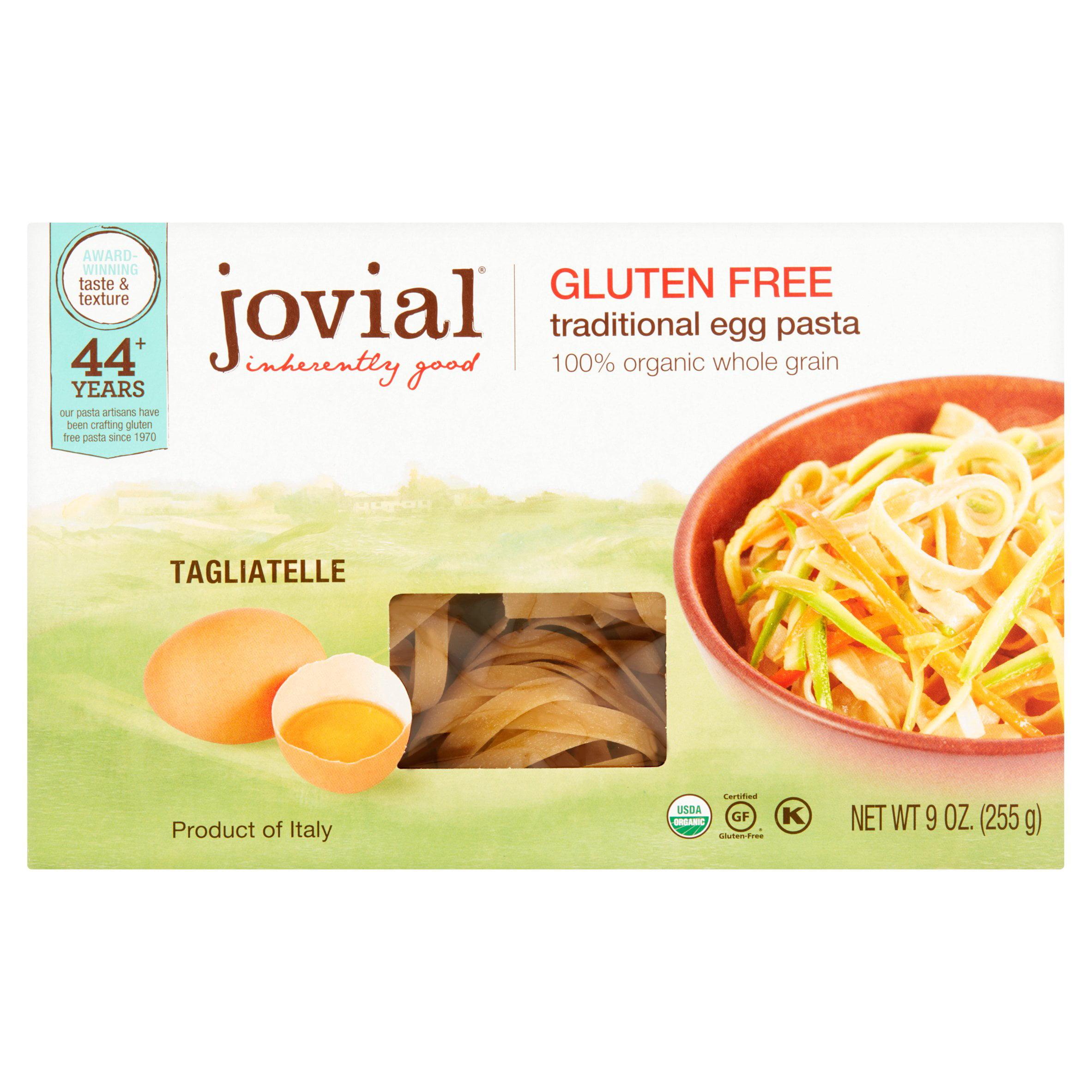 Jovial Pasta Brwnrce Tagliatelle,9 Oz (Pack Of 12)