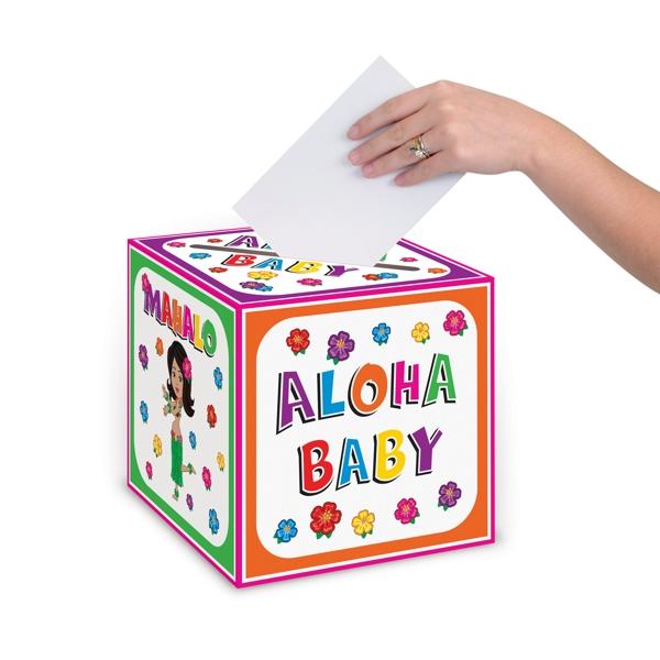 Aloha Baby Card Box