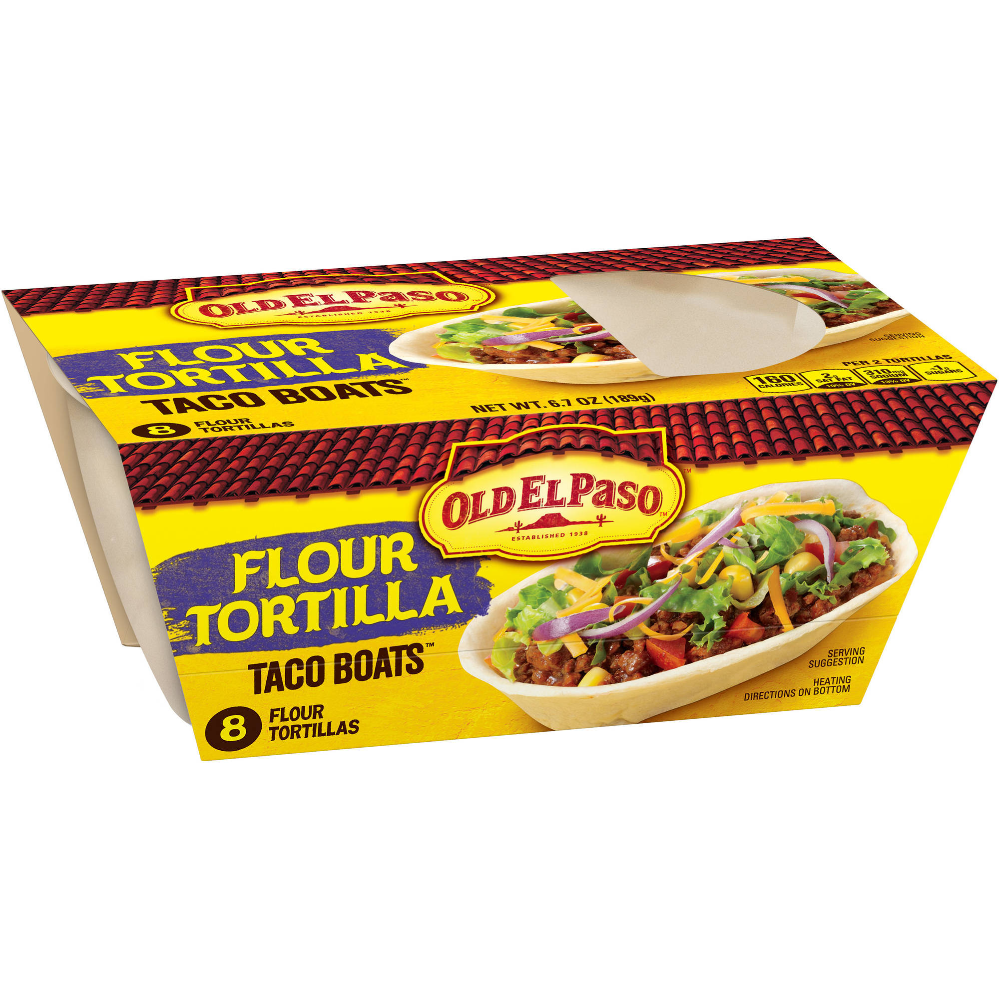 Old El Paso? Stand 'n Stuff? Soft Flour Tortillas 8 ct. Pack