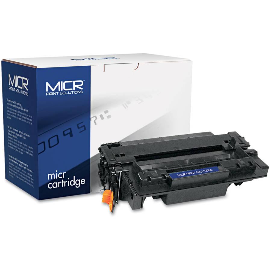 MICR Print Solutions Compatible with CE255AM MICR Black Toner Cartridge