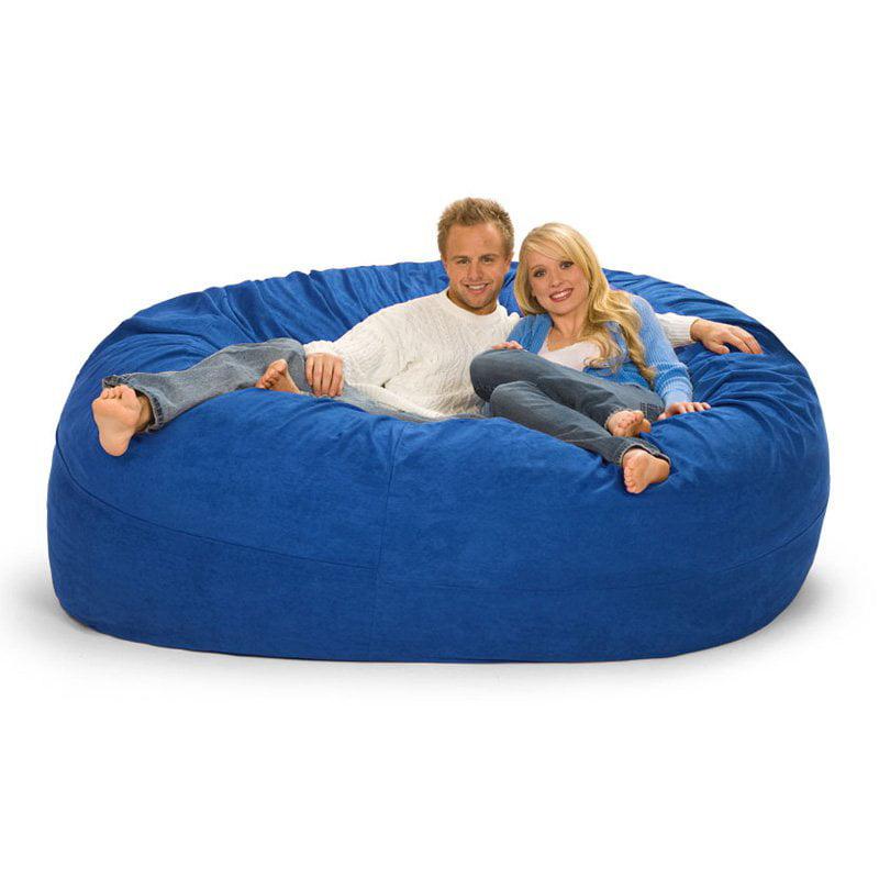 Relax Sack 7 ft. Microsuede Foam Bean Bag Sofa