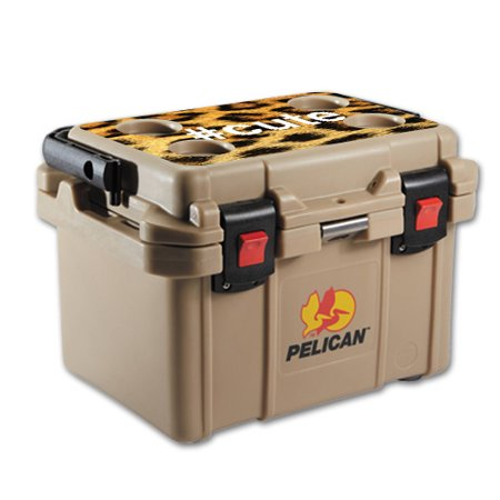 MightySkins Skin For Pelican 20 qt Cooler Lid | Protective, Durable, and Unique Vinyl Decal wrap cover | Easy To Apply, Remove, and Change Styles | Made in the USA ()