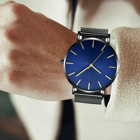 Les couples de mode imperméables ultra-minces de 6.5mm observe les montres simples d'affaires de loisirs hommes et femmes les montres à quartz générales - image 2 of 7