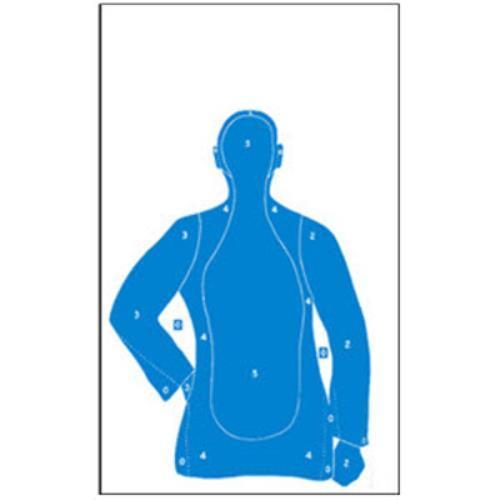 B-21E/R33 Reduced Silhouette Target  Pack of 10