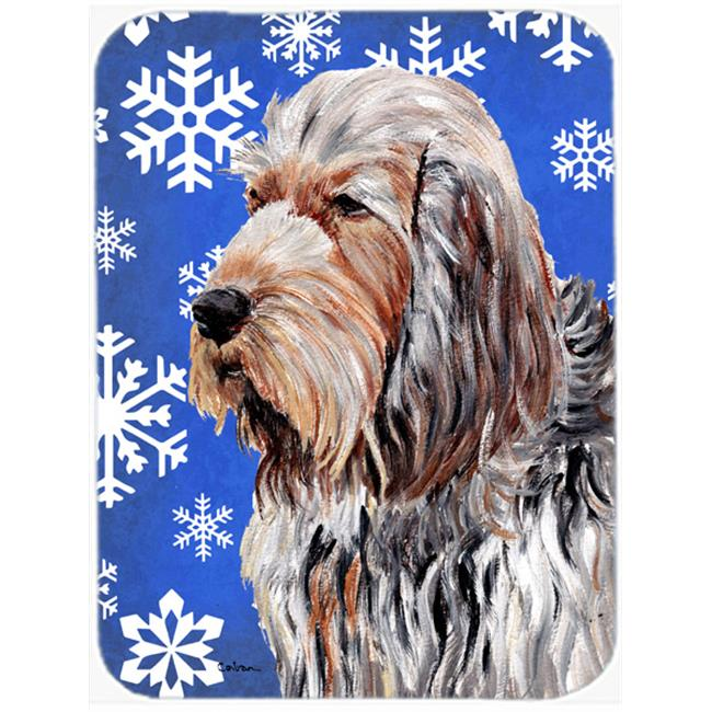 Otterhound Winter Snowflakes Mouse Pad, Hot Pad Or Trivet, 7.75 x 9.25 In. - image 1 of 1