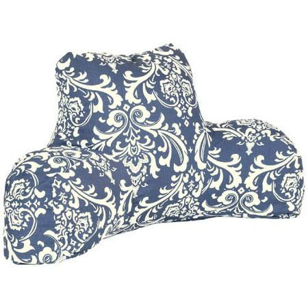 Majestic Home Goods Reading Pillow, French Quarter, Navy Blue - image 1 de 1