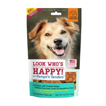Pumpkin Dog (Look Who's Happy! Chicken & Pumpkin Tempt'n Tender Dog Treats, 5)