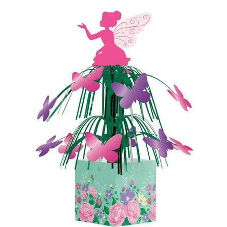 Floral Centerpiece Ideas (Creative Converting Floral Fairy Sparkle)
