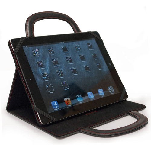 Mobile Edge Deluxe Apple iPad Folio, Brown or Black