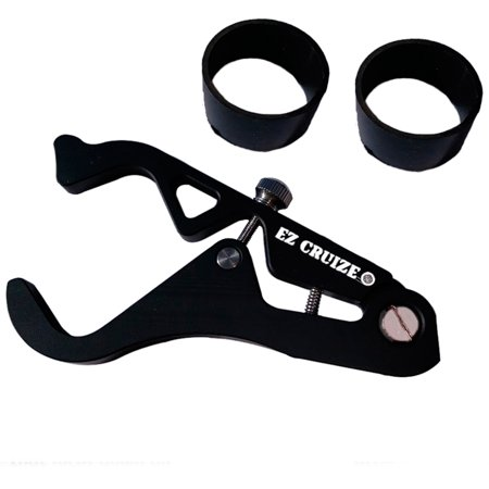 EZ Cruize - Motorcycle Cruise Control - Universal Throttle Assist - Wrist / Hand Grip Lock Clamp - Comes with 2 Rings