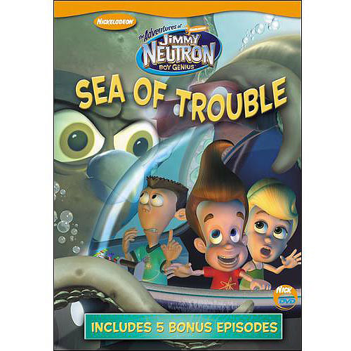 The Adventures Of Jimmy Neutron, Boy Genius: Sea Of Trouble (Full Frame)
