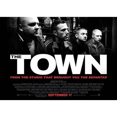 Halloween Town Poster (The Town (2010) 30x40 Movie)