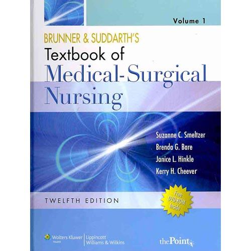 Brunner & Suddarth's Textbook of Medical-Surgical Nursing, N. American Ed (2-Vol); Lippincott's Video Series: Medical-Surgical Nursing Student DVD; &