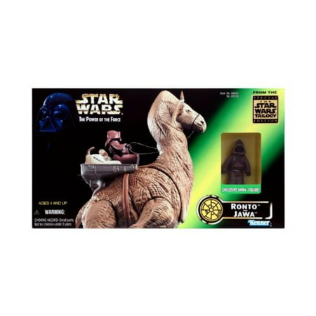 Star Wars Ronto & Jawa Beast Pack Deluxe Figure Set ()