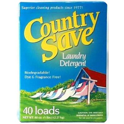 Country Save Laundry Detergent (8x5LB ) (Laundry Detergent Country Save)