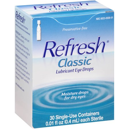 Refresh Classic Lubricant Eye Drops, 0.01 fl oz